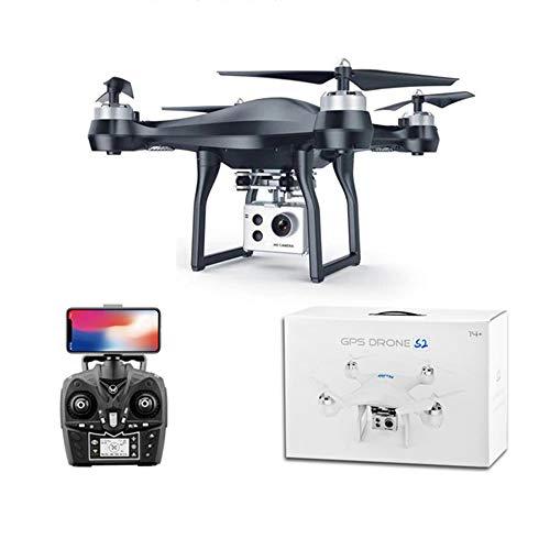 Inteligente GPS de posicionamiento Volver Aviones no tripulados, Aéreo Profesionales de Alta definición a Distancia Control de la aeronave, Larga Resistencia Quadcopter,Negro,2.4G+720P