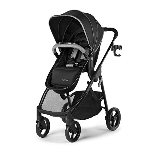 Fantastic Prices! Summer Myria Modular Stroller, Onyx Black – Car Seat Compatible, Lightweight Str...
