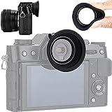 Ocular Visor para Fujifilm Fuji X-T30 X-T20 X-T10 Eyecup (Goma)
