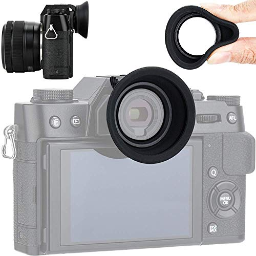 Augenmuschel Okular für Fujifilm Fuji X-T30 X-T20 X-T10 Sucher(Gummi)