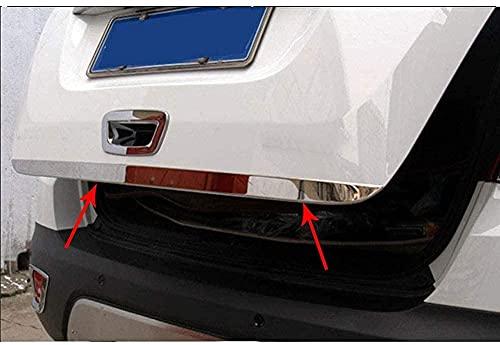 Verchromte Edelstahl Auto Heckklappenverkleidung für Opel Mokka 2013 2014 2015 2016 2017 2018, Heckklappen Zierleiste Kofferraum Stylingleisten Aufkleber Dekoration ZubehöR