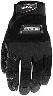 Cestus Vibration Series TrembleX Neoprene Polychloroprene Anti-Vibration Glove, Work, Large, Black (Pack of 1 Pair)