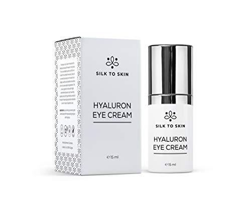 Silk to Skin: Hyaluron Eye Cream, premium oogcrème, opbouw van eigen collageen, vitamine C, vitamine E