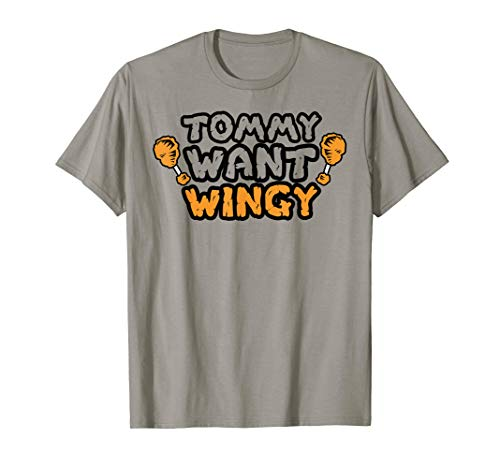 Funny Chicken Wing Tshirt - Tommy Want Wingy