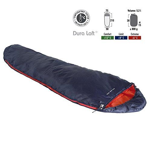 High Peak Lite PAK 800 Schlafsack Blue/orange 2019 Quechua Schlafsack
