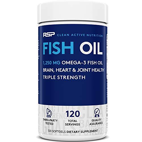 RSP Fish Oil Supplement - Triple St…