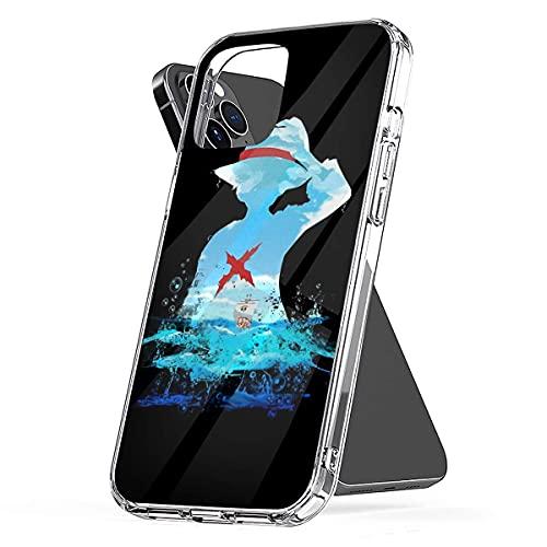 Cajas del Teléfono Luffy One Piece Cover iPhone 12/11 Pro MAX 12 Mini SE X/XS MAX XR 8 7 6 6s Plus Funda