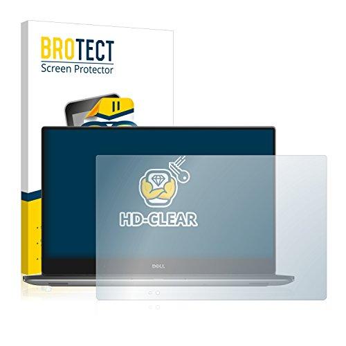 BROTECT Schutzfolie kompatibel mit Dell Precision 5520 4K Touch klare Bildschirmschutz-Folie