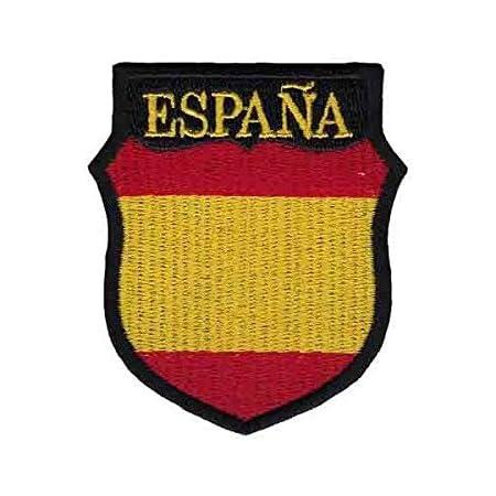 Gemelolandia | Parche Termoadhesivo del Escudo de Brazo de la División Azul de voluntarios Españoles 6cm | Muy Adherentes | Patch Stickers Para Decorar Tu Ropa | Fáciles de Poner
