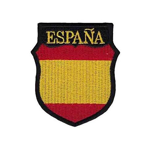 Gemelolandia | Parche Termoadhesivo del Escudo de Brazo de la División Azul de voluntarios Españoles 7x6cm | Muy Adherentes | Patch Stickers Para Decorar Tu Ropa | Fáciles de Poner