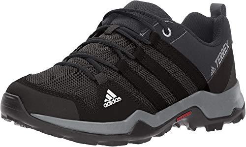 adidas outdoor Kids' Terrex AX2R Hiking Boot, Black/Black/Vista Grey, 4 Child US Big Kid