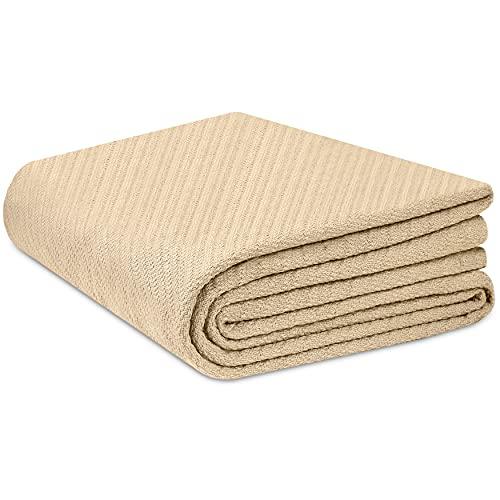 COTTON CRAFT - Super Soft Premium Cotton Herringbone Twill Thermal...