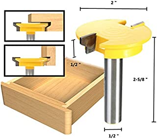 1/2 Inch Shank Rail Stile Router Bit Shaker Woodworking Chisel Cutter Set