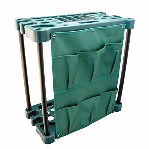 Livingshire Garden Tool Storage Organiser Holder Rack   Small Tools Organisers Racks   Tidy Solutions for Gardens, Garage, Stable and Shed 