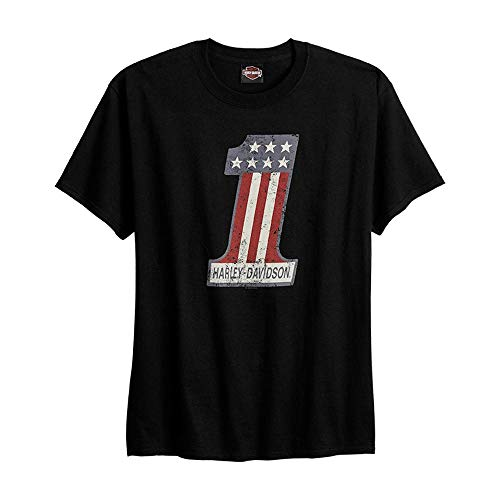 HARLEY-DAVIDSON® Number 1 H-D T-Shirt And Warr's London Wrecking Crew Back