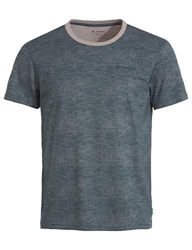 VAUDE Mineo AOP - Camiseta para Hombre, Hombre, Camiseta, 42051, Dove, Large