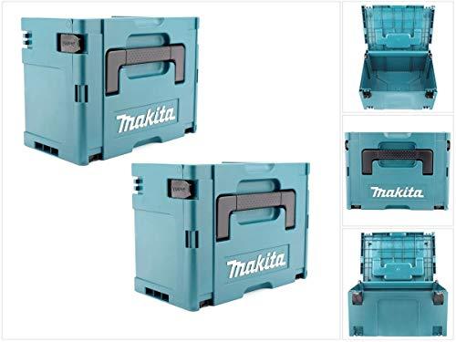 Makita Makpac Gr. 3 Systemkoffer im 2er Set
