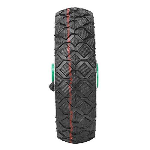 Neumático de caucho, buena capacidad de carga Neumático inflable Incorporado Cojinetes precisos Tubo interior intercambiable estable para una variedad de carros de herramientas