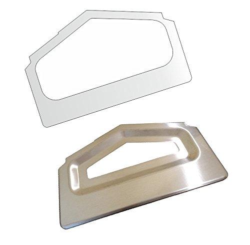 3 x Schutzfolie für Siemens EQ 9 - EQ9-300 - 500-700 - 900 - ExtraKlasse - Abtropfblech - Tassenablage - Abstellblech