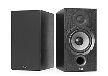 ELAC Debut 2.0 B6.2 Bookshelf Speakers Black  Pair