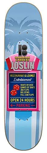 Plan B Skateboard-Brett / Deck, 21 cm, Joslin Pro Hawaiian Pro