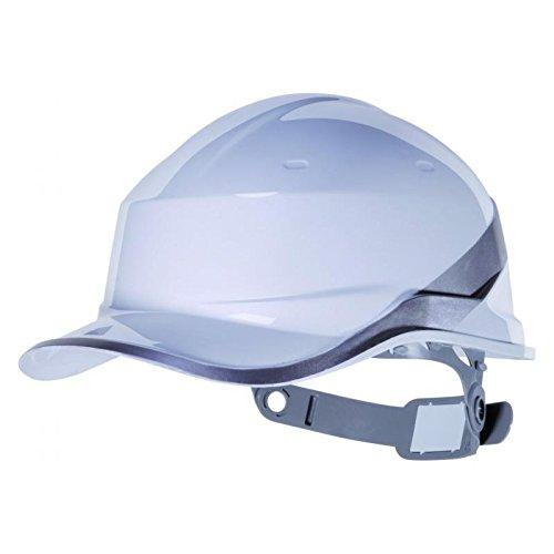 Deltaplus - Casco de béisbol Diamond V, color blanco