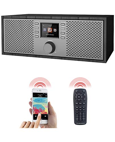 VR-Radio Internetradios: Stereo-WLAN-Internetradio, Farb-Display, 12 W, Bluetooth 5, Fernbed. (WLAN Lautsprecher)