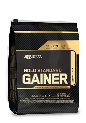 Optimum Nutrition Integratore Alimentare di Carboidrati e Proteine Vaniglia - Buste da 3.25 kg