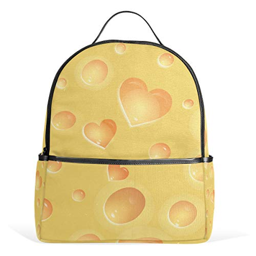 MALPLENA Love Tasty Fresh Cheese petit sac à dos de voyage Randonnée Sac à dos