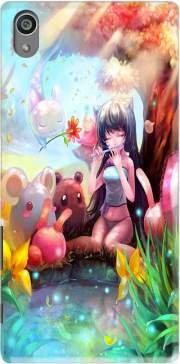 Mobilinnov Coque Sony Xperia Z5 Rigide Motif Charmeuse Manga de Protection et Personnalisation