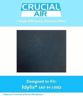 1 Idylis IAF-H-100D Carbon Filter; Fits Idylis Air Purifiers IAP-10-280; Compares to Part # IAF-H-100D & 302656; Designed ...