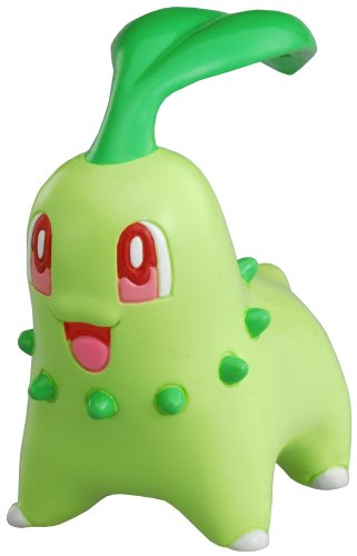 Pokemon Black and White Takaratomy M Figure - M-071 - Chikorita/Chicorita