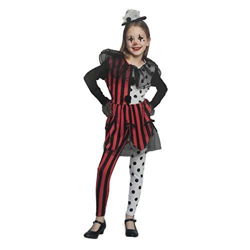 LEMON TREE SL Disfraz para Halloween Infantil de Arlequín Color Negro y...