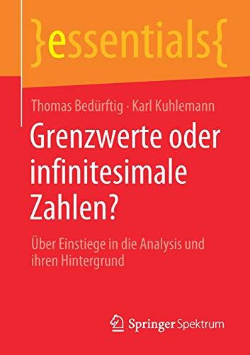 Grenzwerte oder infinitesimale Zahlen?: Über Einstiege in die Analysis und ihren Hintergrund (essentials)