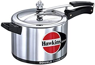Hawkins Double Thick Ekobase Pressure Cooker with Separator, 5-Liter