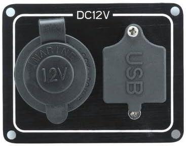 Victory AA70063 Marine Weatherproof Socket Cigarette Sale lowest price 12VDC USB