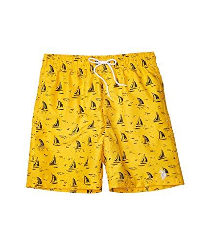 U.S. Polo Assn. Sailboat Swim Shorts Cape Yellow LG