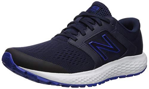 New Balance Men's 520v5 Cushioning Running Shoe, Navy/Blue, 8.5 4E US