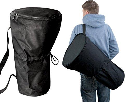 Borsa per Djembé 60 cm Ø 30 cm tela resistente cotone Drum Bag tracolla
