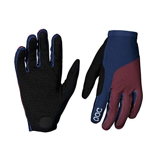 POC Unisex– Erwachsene Essential Mesh Glove Fahrradhandschuhe, Propylene Red/Turmaline Navy, S