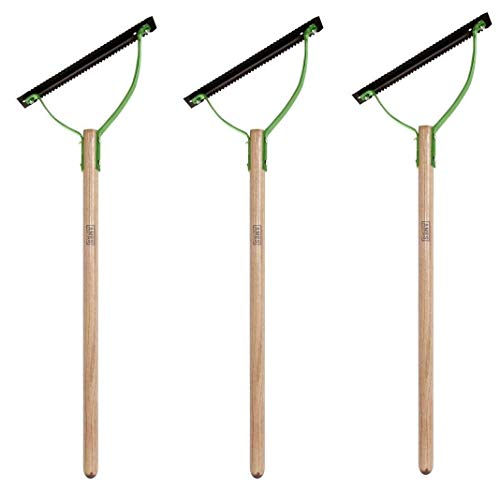 AMES 2915300 Double Blade Weed Grass Cutter with Hardwood Handle, 30 Inch, Brown (?hree P?ck)