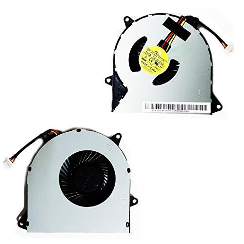 Bucom Ventilador Enfriador para IBM Lenovo IdeaPad 100–15iby 100–14ibd 100–15ibd 110–14Rama 110–15ACL 100–14iby Fan