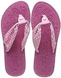 TOM TAILOR Schuhe Zehentrenner mit gemustertem Stoff rose