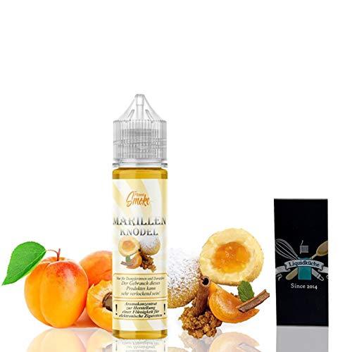 Flavour Smoke Marillenknödel 20ml Aroma + 1x Liquidküche Akku Sleeve Nikotinfrei | zum Mischen von Liquid für EZigaretten | Akkuschlauch Schutzhülle für deine Akkus | Konzentrat | Ohne Nikotin