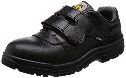 [ジーデージャパン] 安全靴・静電靴 耐油 ウレタン2層底 JSAA A種認定合格品 ワイド樹脂先芯 4E W1200 ブラック 26.0cm
