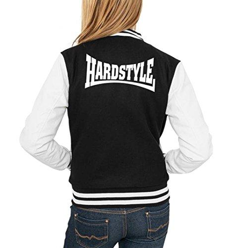Certified Freak Hardstyle College Vest Girls Black L