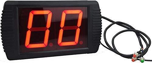 MNBVC Reloj Despertador Digital Temporizador de intervalo LED Cuenta atrás