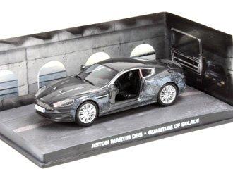 Ex Mag Aston Martin Dbs con Daño - James Bond Quantum of Solace