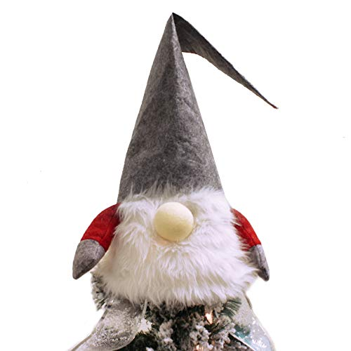 JOYIN Christmas Gnome Tree Topper Swedish Santa 28 Inch Large Christmas Decoration Ornaments Home Decor