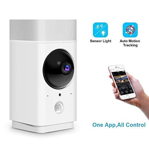 ZQY Teléfono Inalámbrico De Vigilancia De WiFi De La Cámara De Red Móvil Remoto A Todo Color De Alta Definición De Visión Nocturna Panorámica Cubierta Inicio del Monitor (Color : 64GB)